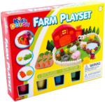 Kid's Toys Kid's Dough - Farm építő 2 db-os gyurmakészlet
