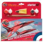 Airfix RAF Red Arrows Gnat 1/72 AF55105