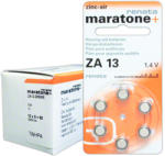 Renata Baterii auditive zinc-aer Renata Maratone+ ZA13 (ZA13) Baterie alcalina