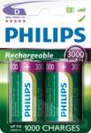 Philips 20B2A300/10 D Tölthető elem, 3000mAH, 2db