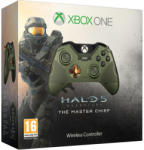 Microsoft Xbox One Wireless Controller - Halo 5 Guardians Master Chief Limited Edition (GK4-00013)