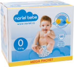 Noriel Bebe Scutece Noriel Bebe Mega Pachet, marimea 0, 150 buc, 2 - 4 kg