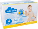 Noriel Bebe Scutece Noriel Bebe Mega Pachet, marimea 4, 108 buc, 12 - 25 kg