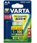 VARTA Rechargeable Accu AA 1600mAh (2)