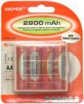 Vapex AA 2900mAh (4) Baterie reincarcabila