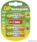 GP Batteries AA 2700mAh (6)