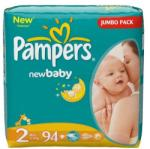 Pampers Active Newbaby 2 Mini 3-6 кг (94 броя)