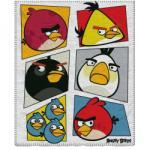 Angry Birds polár takaró (mozaik)