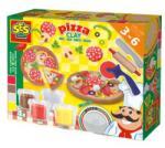 SES Creative Pizzakészítő gyurmakészlet