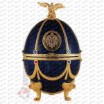 Russian Carskaja Imperial Collection Faberge Egg Sapphire Disagne Vodka (0.7L)