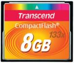Transcend CompactFlash 8GB 133x TS8GCF133