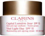 Clarins Vital light day crema de fata anti-imbatranire spf 15 femei 50 ml