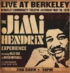 Jimi Hendrix Live At Berkeley - livingmusic - 151,00 RON