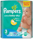 Pampers Active Baby-Dry 3 Midi (4-9kg) 90db