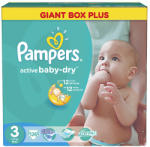 Pampers Active Baby-Dry 3 Midi (4-9kg) 126db