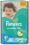 Pampers Active Baby-Dry 4+ Maxi Plus (9-16kg) 70db