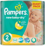 Pampers New Baby-Dry 2 Mini (3-6kg) 100db