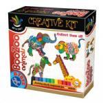 D-Toys kreatív játék, Boo-Zoo gyurma állatok (5947502868071)