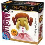 D-Toys kreatív játék, alkotó Molly baba készlet (5947502868019)
