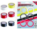 BGS Technic Szigetelőszalag készlet 6 db-os színes (9-80836)