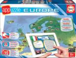 Educa Joc de societate Appuzzle Europe - Harta Europei Educa în limbă engleză, franceză şi spaniolă de la 6 ani (EDU15895) Joc de societate