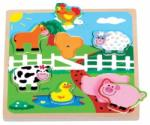 New Classic Toys Puzzle ferma cu sunete - top10toys