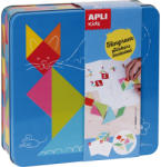 Apli Kids Tangram matricázó fémdobozban Apli Kids