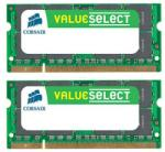 Corsair Value Select Notebook 4GB (2x2GB) DDR2 667MHz VS4GSDSKIT667D2