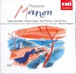 EMI Massenet: Manon - 3 CD