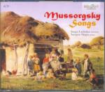 BRILLIANT Mussorgsky: Songs - 4 CD