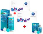 akciós csomagok 2 doboz biofinity (6db) + 1 doboz solo care aqua (360ml) + 1 doboz ajándék solo care aqua (90ml) (6 darab/doboz)