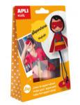 APLI Készíts szuperhőst! - bábukészítő készlet (LCA14086)