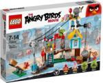 LEGO The Angry Birds Movie - Malac város lerombolása (75824)