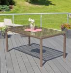 G21 Royal Exklusiv rattan asztal