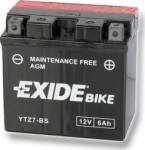 Exide Bike 6Ah 130A Jobb YTZ7-BS