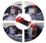 Ideal Products Suport auto pentru telefon cu prindere pe volan (0076E)