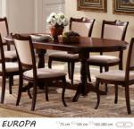 Europa bővíthető étkezőasztal 160/280cm
