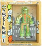 Zing Stikbot játékfigura - világoszöld