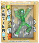 Zing Stikbot játékfigura - sötétzöld
