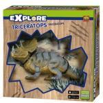 SES Creative Explore Triceratops dínó készlet