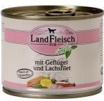 LandFleisch Poultry & Salmon fillet 195g