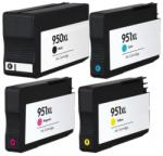 Compatibil Set 4 cartuse imprimanta HP 950XL Black/951XL Cyan/951XL Magenta/951XL Yellow compatibile