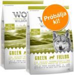Wolf of Wilderness Green Fields - Lamb 2x1kg