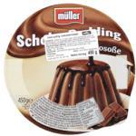 Müller Csokoládé puding öntettel 450g