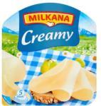 MILKANA Creamy Krémes Szeletelt Sajt Laktózmentes (100g)