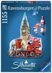 Ravensburger Sziluett puzzle - Big Ben, London 1155 db-os (16155)