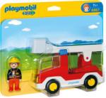 Playmobil 1.2.3. Tűzoltóautó (6967)