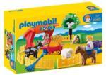 Playmobil 1.2.3. Állatsimogató (6963)