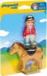 Playmobil 1.2.3. Díjugrató lány (6973)