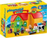 Playmobil 1.2.3. Hordozható farm (6962)